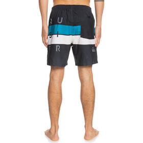 Quiksilver Word Block Volley 17 Shorts Men, negro